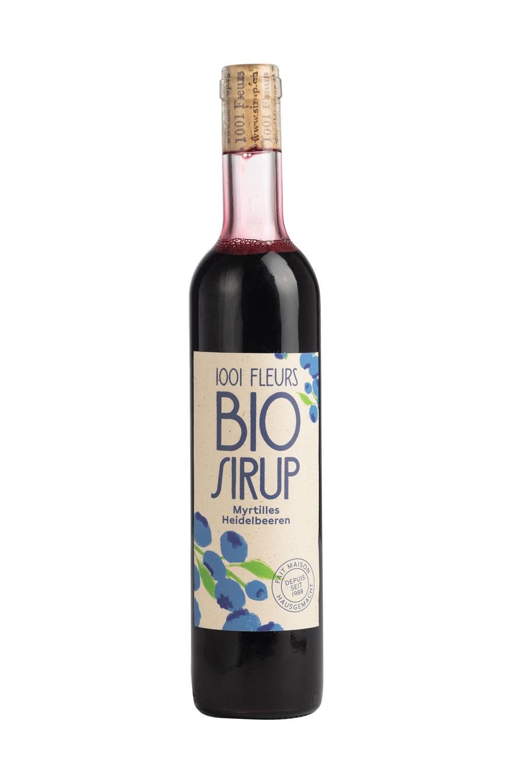 Bio Sirup Heidelbeeren | sirop de myrtille bio 5dl