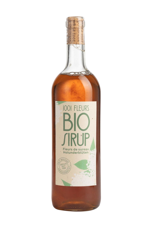 Bio Sirup Holunderblüten | sirop de fleurs de sureau bio 7.5dl