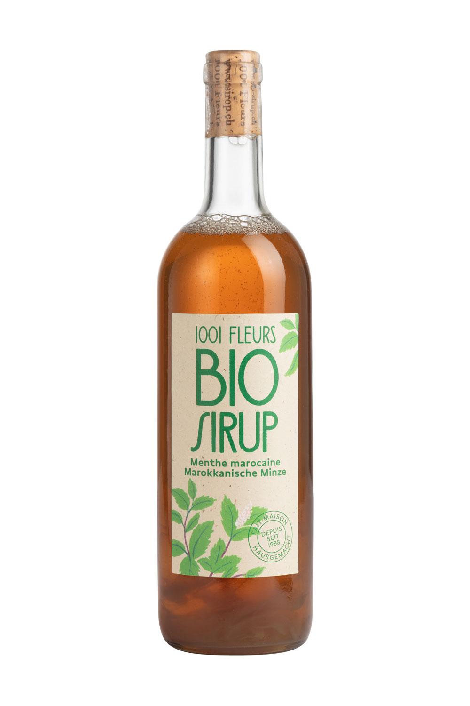 Bio Sirup Marokkanische Minze | sirop menthe marocaine bio 7.5dl