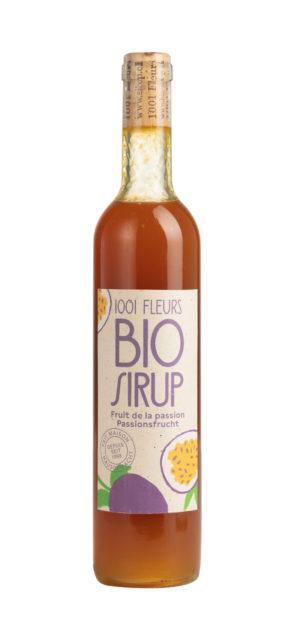 Bio Sirup Passionsfrucht | sirop de fruit de la passion bio 5dl