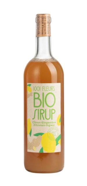 Bio Sirup Zitronen-Ingwer | sirop citron-gingembre bio 7.5dl