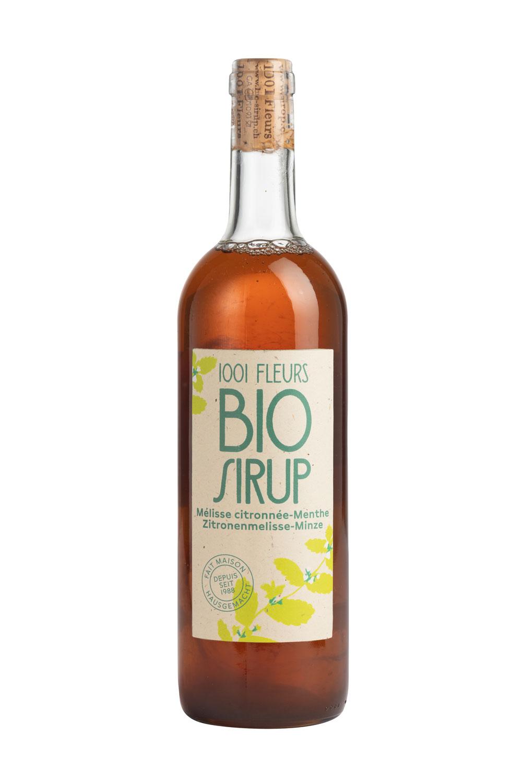 Bio Sirup Zitronenmelisse-Minze | sirop de mélisse citronnée et menthe bio 7.5dl
